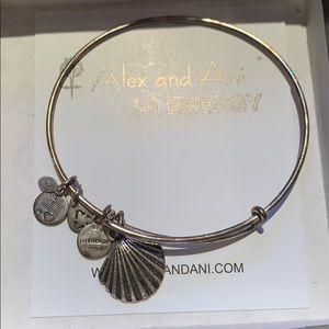 Alex and Ani Shell Bracelet